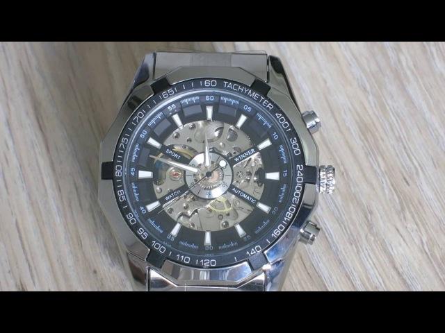 Часы Winner Skeleton с алиэкспресс Winner skeleton watch aliexpresse Механічний годинник