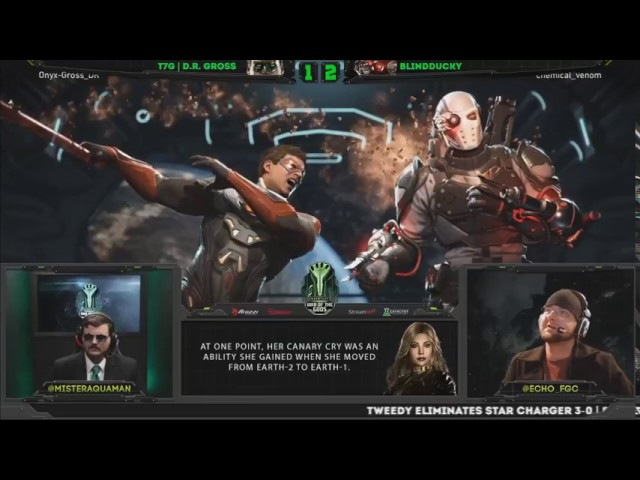 Injustice 2 War of the Gods week 5 Top 16 ft Semiij Dragon Iluusions and more