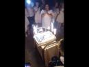 Белая Магия Тортик с фейерверком
