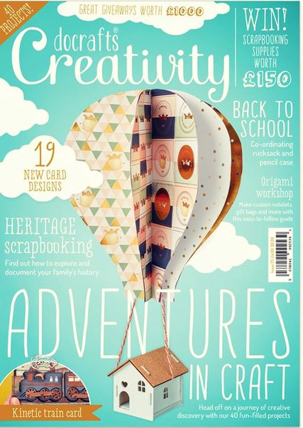 docrafts Creativity August 2016