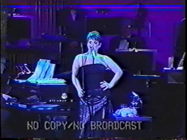 Patti LuPone I Never Do Anything Twice