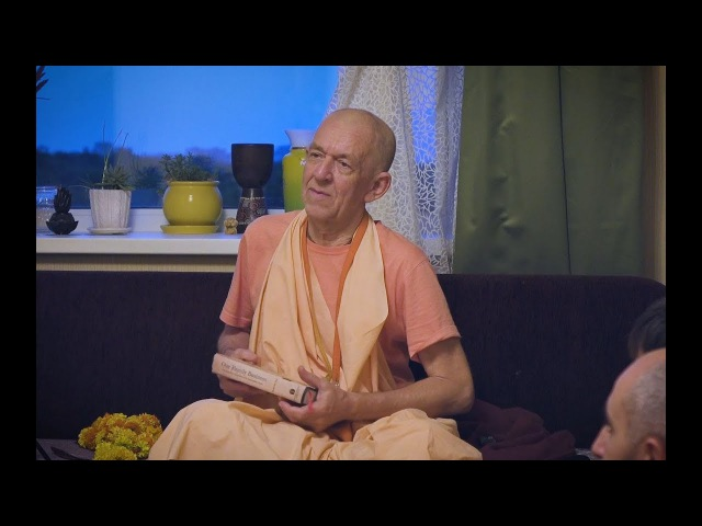 Е.С. Бхакти Вигна Винаша Нарасимха Махарадж (24.08.17) Намахата у Кешавы Прии д.д.