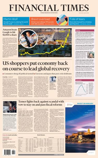 Financial Times USA 31 May 2017 FreeMags