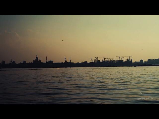 Нижний Новгород Нижняя заречная часть аэросъемка SkyMovie