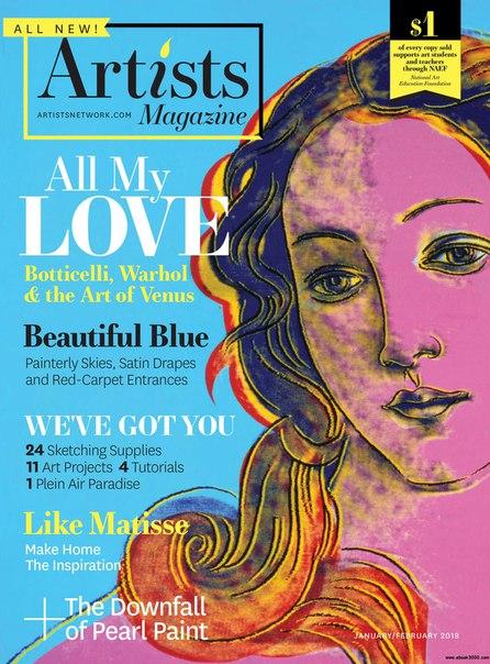 The Artists Magazine-January 2018
