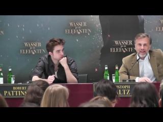 Robert Pattinson und Christoph Waltz - Water For Elephants _ an den Haaren herbeiziehen