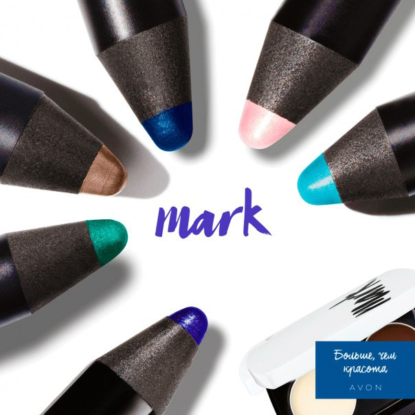 Тени карандаш mark чи косметика для волос купить