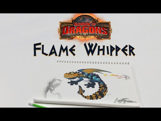 School Of Dragons – The Concept Flame Whipper
