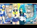 Sailor Uranus Sailor Neptune S.H.Figuarts Anime Sailor Moon Figure Unboxing and Review