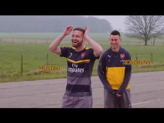Laurent Koscielny - Officiel and Shkodran Mustafi in the ultimate test of accuracy - Citron's #C1Airscape challenge