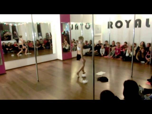 Бевзюк Арина отчетный концерт г Кировоград ROYAL POLE DANCE