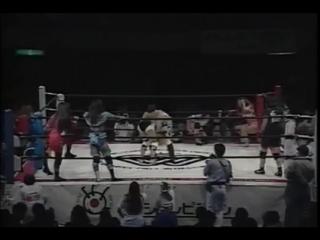 Hokuto _ Shimoda _ Mita _ Suzuka (AJW) VS Ozaki _ Kansai _ Masami _ Mariko (JWP)