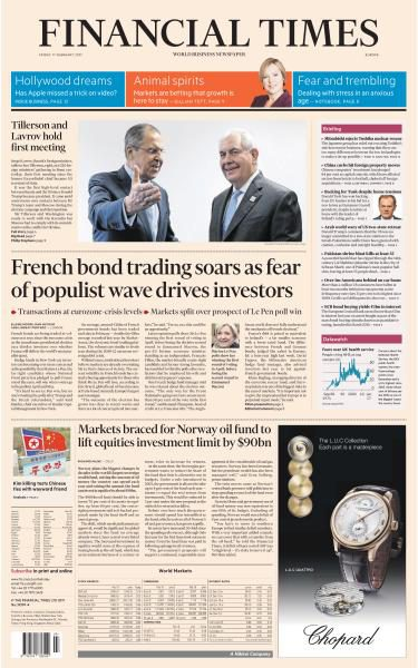 Financial Times Europe 17 February 2017 FreeMags