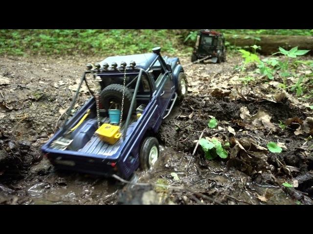 Rc Land Rover defender 110 HCPU feat defender 90 WildBrit