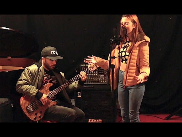 Miki Santamaria Elsa Hackett Into You bass vocals cover