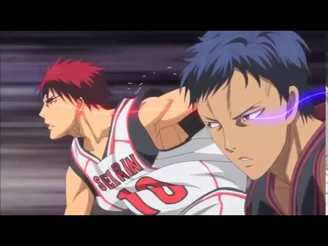 Клип из аниме Баскетбол Куроко под музон бой с тенью