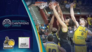 MHP Riesen Ludwigsburg v medi Bayreuth - Full Game - Quarter-Final - Basketball Champions League