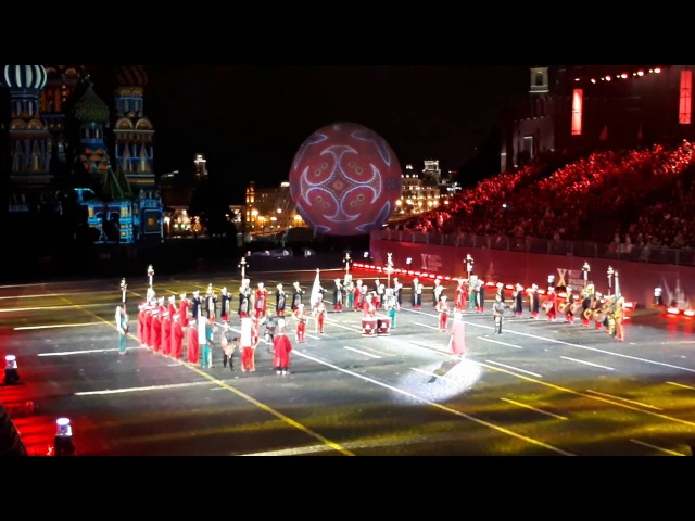 TSK Mehter Takımı'nın Kızıl Meydan'daki Konseri Концерт Турецкого Военного Оркестра Мехтер