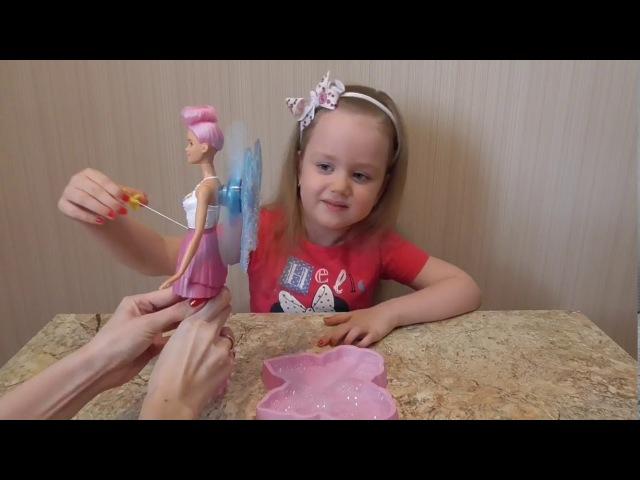 Обзор и распаковка куклы Барби Дримтопия - Фея с волшебными пузырьками. Barbie Dreamtopia.