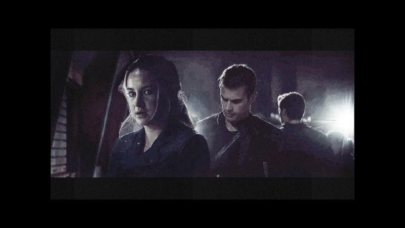 Divergent [Eric/Tris/Four] AU - Бандит