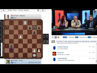 Garry KASPAROV is taking about the Svidler- Carlsen game | Sinquefield Cup 2017 - R7
