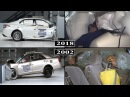 Toyota Camry Safety Evolution From 2002 to 2018 crash tests and rating