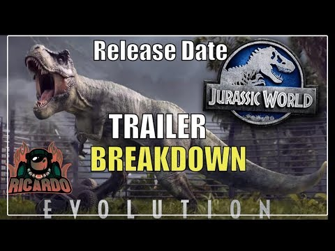 Jurrasic World Evolution Trailer breakdown and Release date