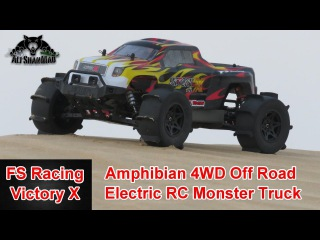 FS Racing Victory X Amphibian 4WD Electric RC Monster Truck