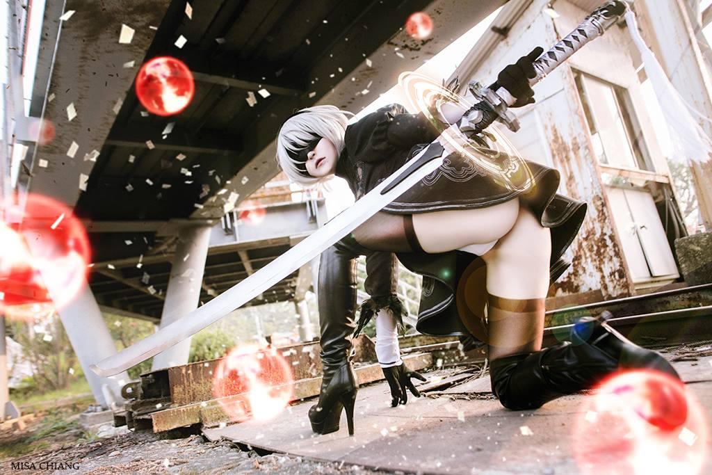 Cosplay Automata Alienware Arena Eporner 1