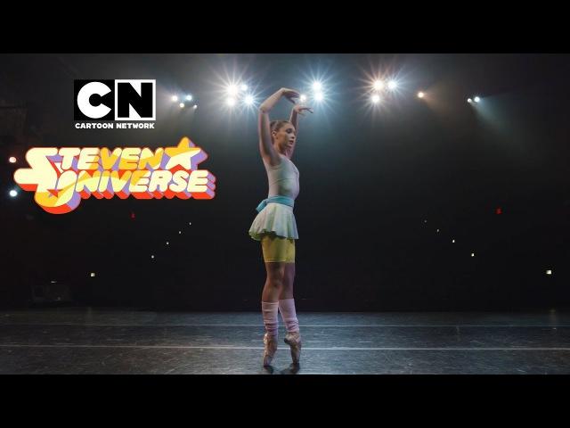 Steven Universe Ballerina Pearl Dances to It's Over Isn't It Cartoon Network