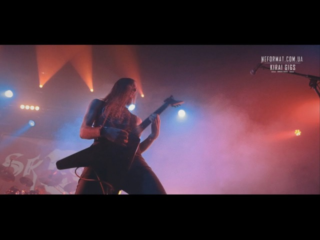 Skogen 1 Under fullmånens sken Live at Bingo Kyiv 02 12 2017 Oskorei duocam Atmospheric Black Metal Sweden
