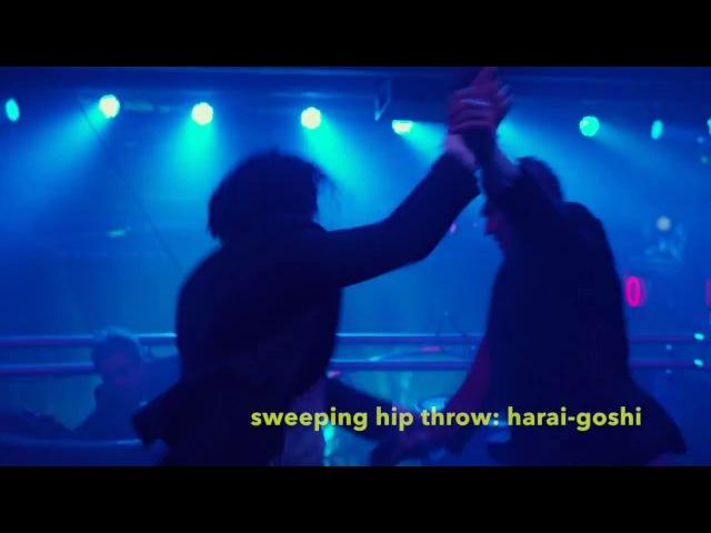 JOHN WICK, Keanu Reeves Judo Aikido Jiu-Jitsu