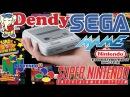 Моя коллекция игр на SNES Mini Classic! [Денди, сега, снес, nintendo 64, mame]