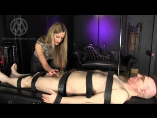 Mistress Whiplash - Chastity Drone's Bi-monthly Milking