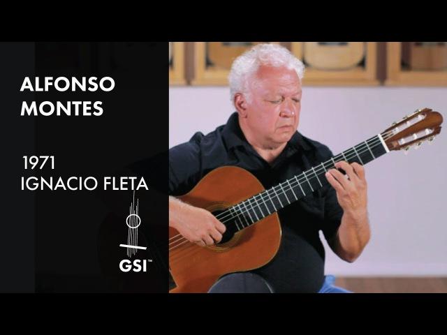 Preludio de Adios Alfonso Montes plays 1971 Fleta
