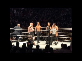 (Wrestling Premium) Brock Lesnar vs. The Miz - WWE live Minneapolis #WWEMinny