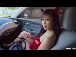 Jade kush big asian tits in sexy costume [all sex, hardcore, blowjob, gonzo]