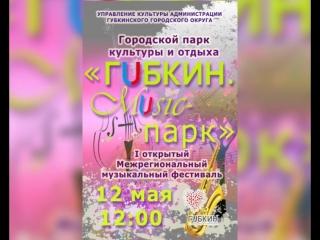 I открытый Межрегиональный музыкальный фестиваль  Губкин. Music-парк