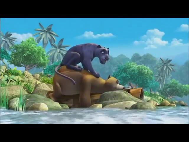 Мультфильм Маугли Книга Джунглей 9 серия Рыбалка