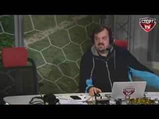 Уткин упал с кресла в прямом эфире
