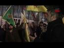 Strasbourg'da Efrîn'i Sahiplenme Eylemi