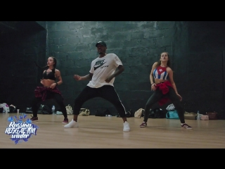 Reggaeton Workshop by Yo Yo Flow (Yoandy)/Russian Reggaeton Winter/2017