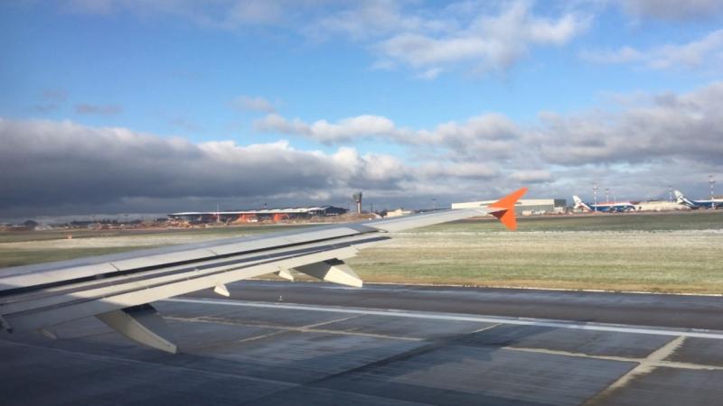 Взлёт 23.10.2017 Москва-Ларнака Аirbus A321 Аэрофлот