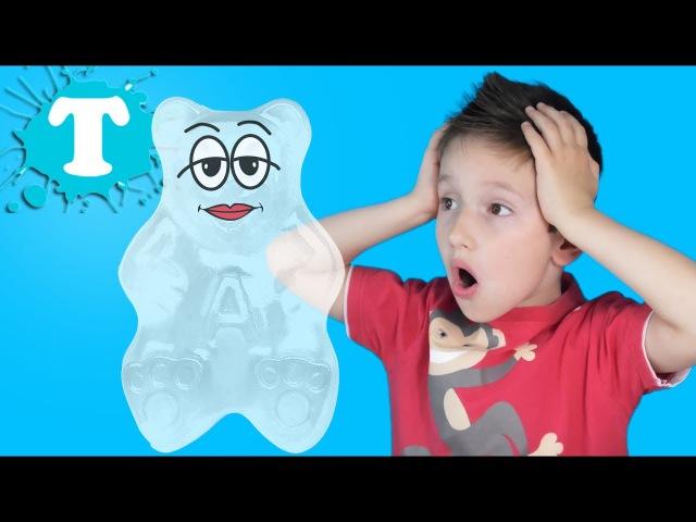 ПОДРУЖКА ЖЕЛЕЙНОГО МЕДВЕДЯ ВАЛЕРЫ неубиваемая giant gummy bear ВАЛЕРИЯ