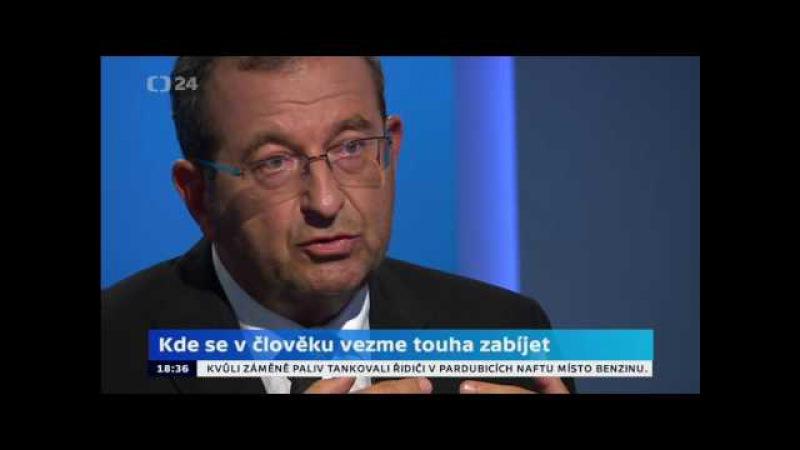 Cyril Höschl (psychiatr) otevřeně a zcela nekorektně k islámu
