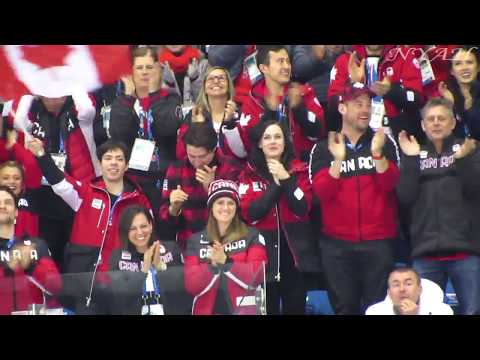 2018 OWG Ladies FS figure skaters's live reaction to Osmond's performance FANCAM