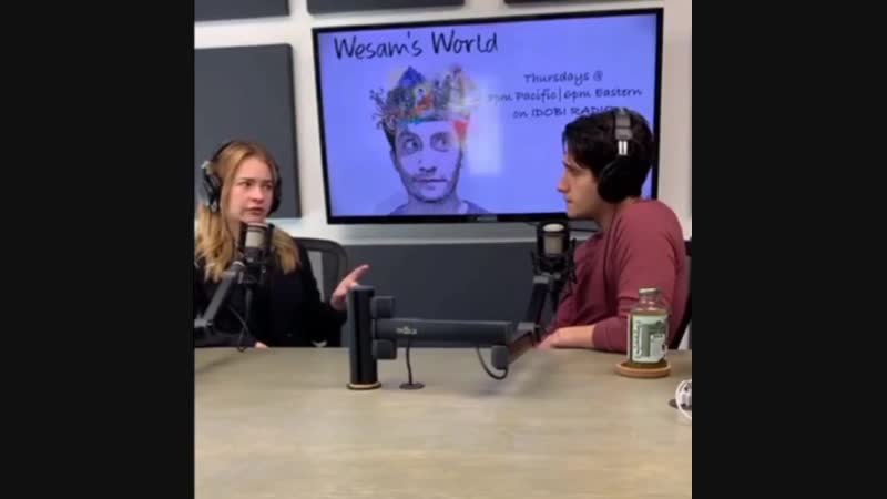 Britt was live with Wesam 1