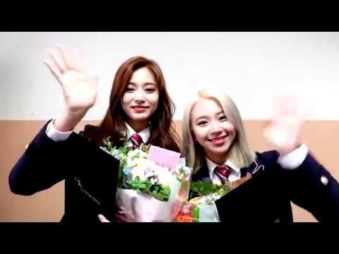 한림예고 2019 졸업식_트와이스 쯔위와 채영