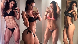 Ana Cozar sexy spanish ifbb pro athlete   bodybuilding motivation