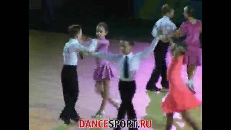 Танцфорум 2008, Дети-1 cha-cha-cha